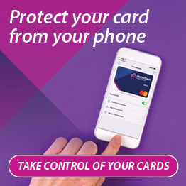 Your Cards. Your Terms. Your Control. 